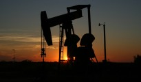 Crude oil prices in Asia ticked down